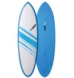 NSP NSP Elements Hybrid Short Surf 6'4 Blue
