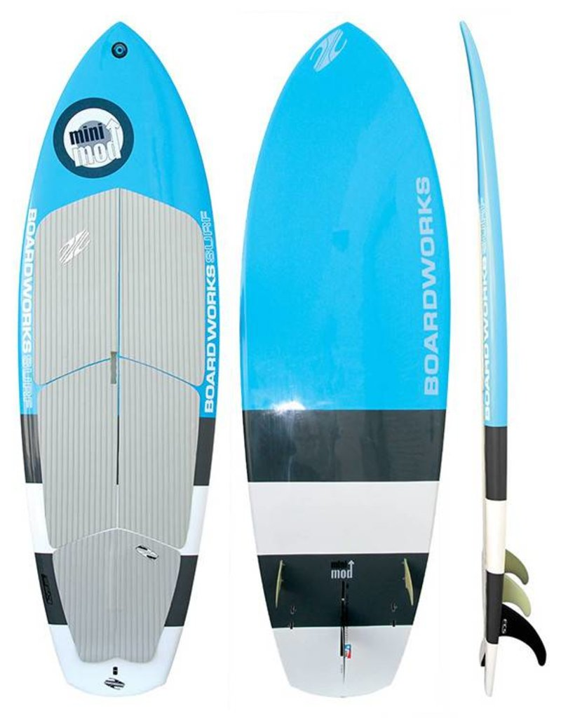 Boardworks SUP SUP Poly Mini Mod 7'10