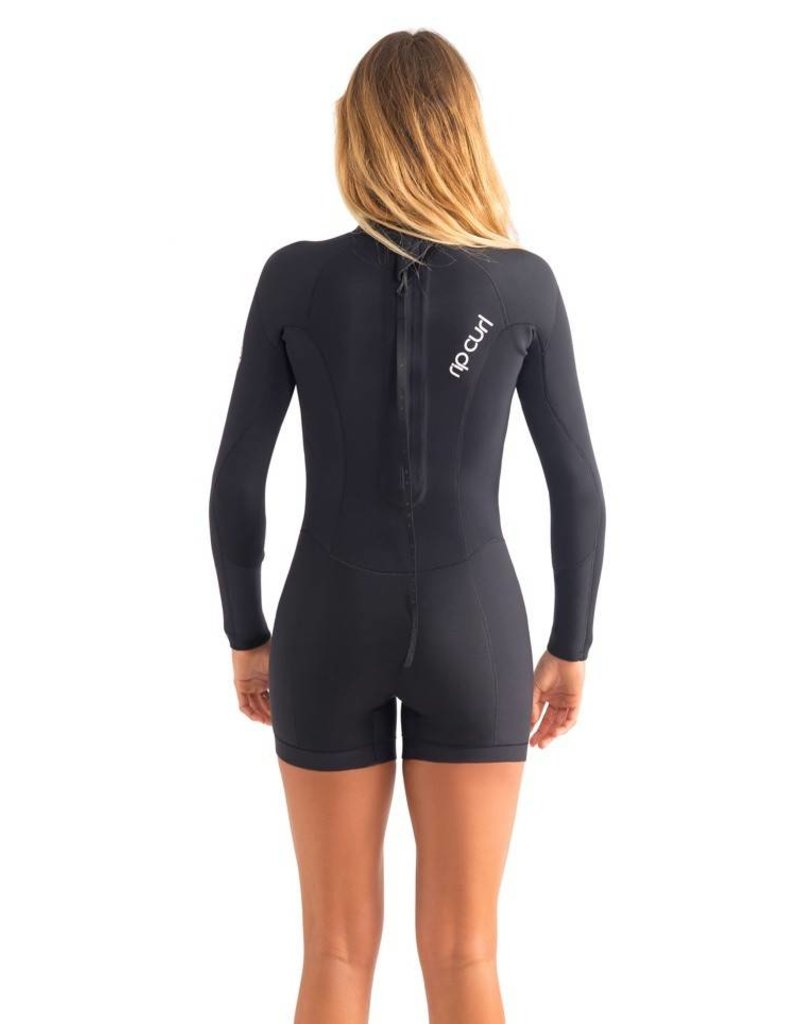 Rip curl Women Dawn Patrol Springsuit L/S 2mm Black