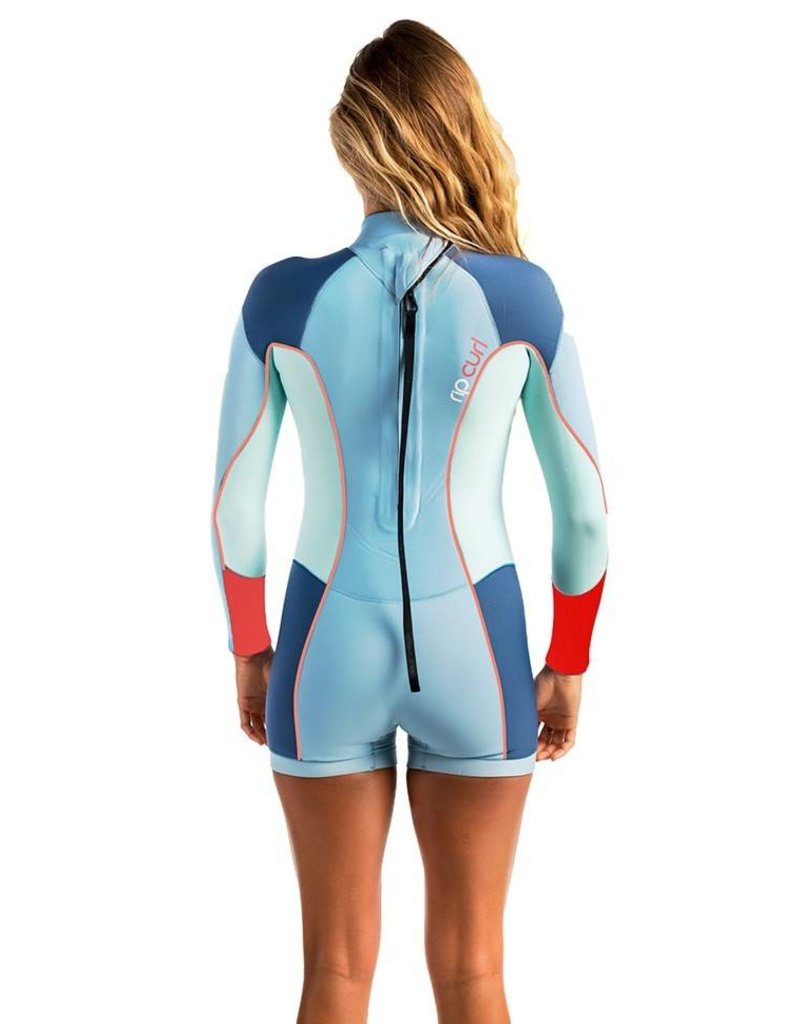 Rip curl Women Dawn Patrol Springsuit L/S 2mm Blue