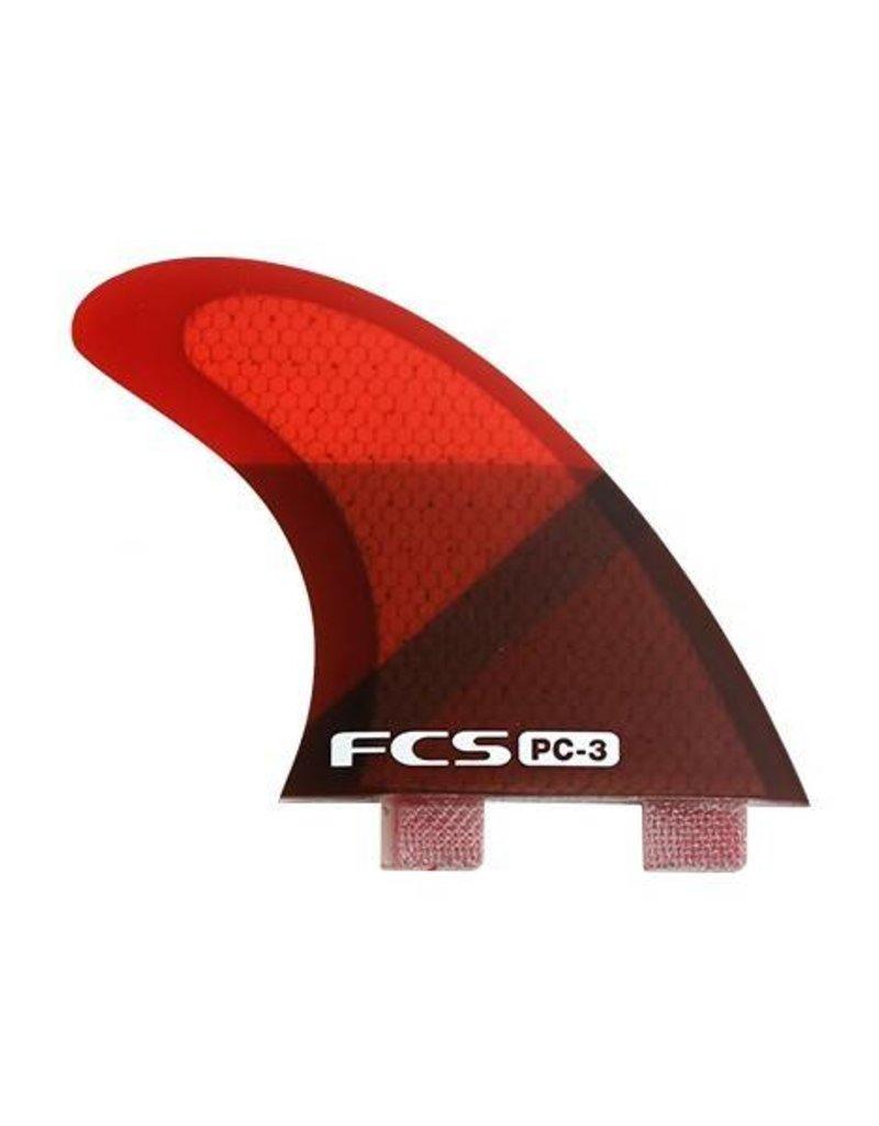FCS FCS PC 3 Red Slice Tri Fin Set