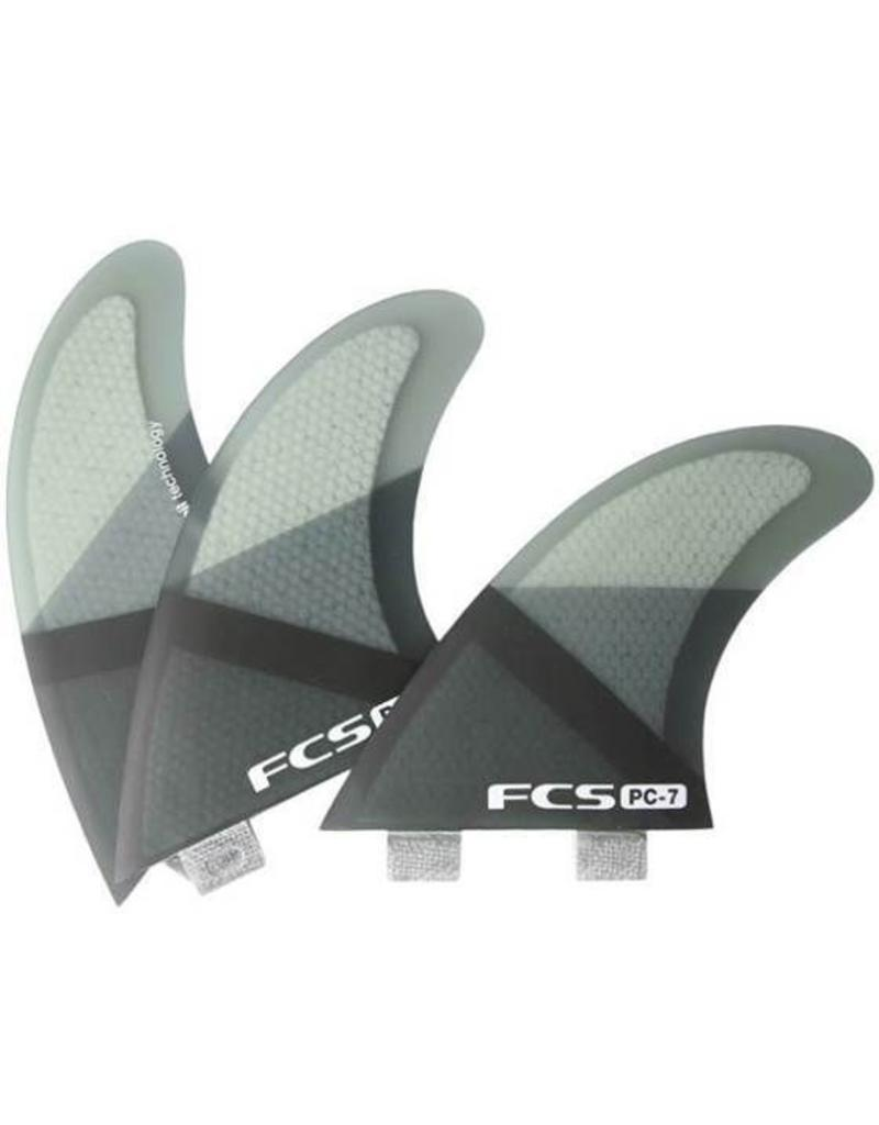 FCS PC 7 Smoke Slice Tri Fin Set