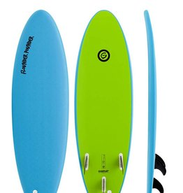 Gnaraloo Flounder Pounder 5'6'' Lime Blue
