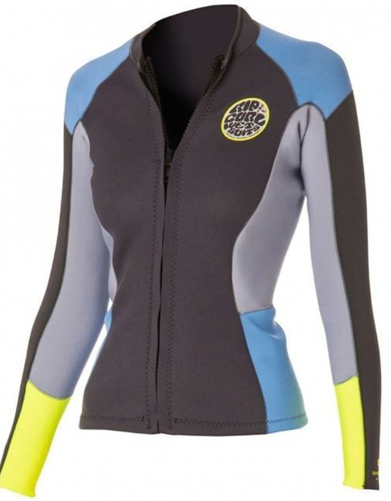 Rip curl Women Dawn Patrol Long Sleeve Jacket Blue (2016)