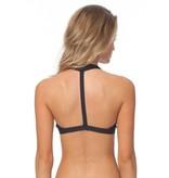 Rip Curl Mirage Active Halter Bikini Top Grey