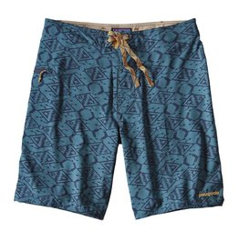 Patagonia M's Stretch Planing Board Shorts - 20 in Bay blue