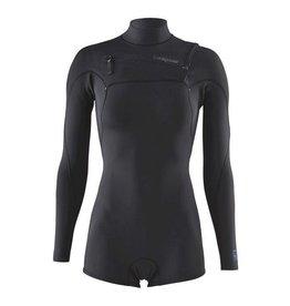 Patagonia W' R1 Lite Yulex FZ L/S Spring Suit Black