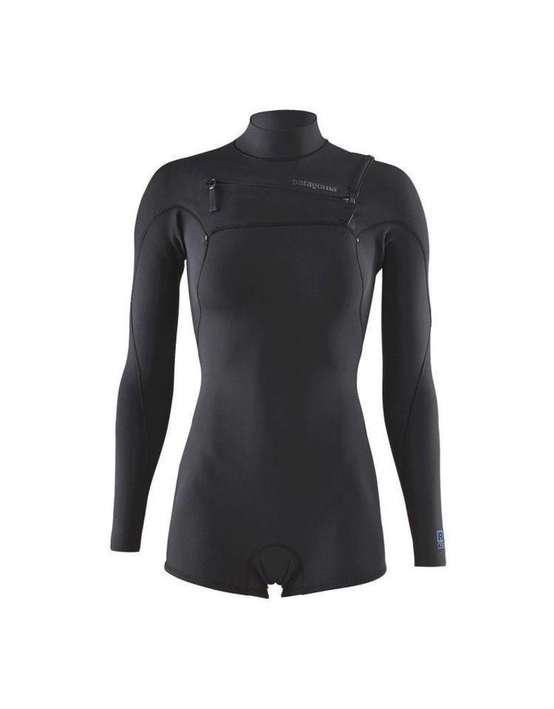 Patagonia W's R1 Lite Yulex FZ L/S Spring Suit Black