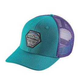 Patagonia Fitz Roy Hex Trucker Hat True Teal