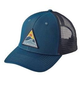 Patagonia Rollin' Thru Trucker Hat Big Sur Blue