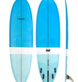 Modern Longboards Love Child 6'8 - Blue Blue