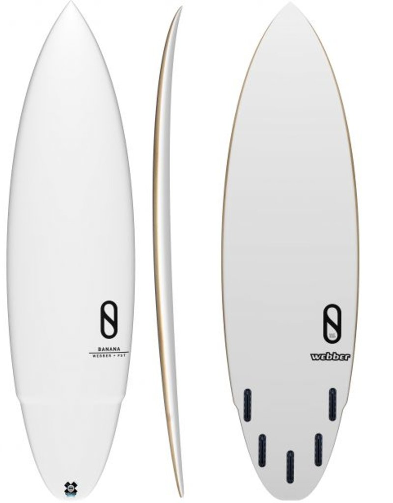 Slater Designs Banana LFT 5'10 Thumb (Futures)