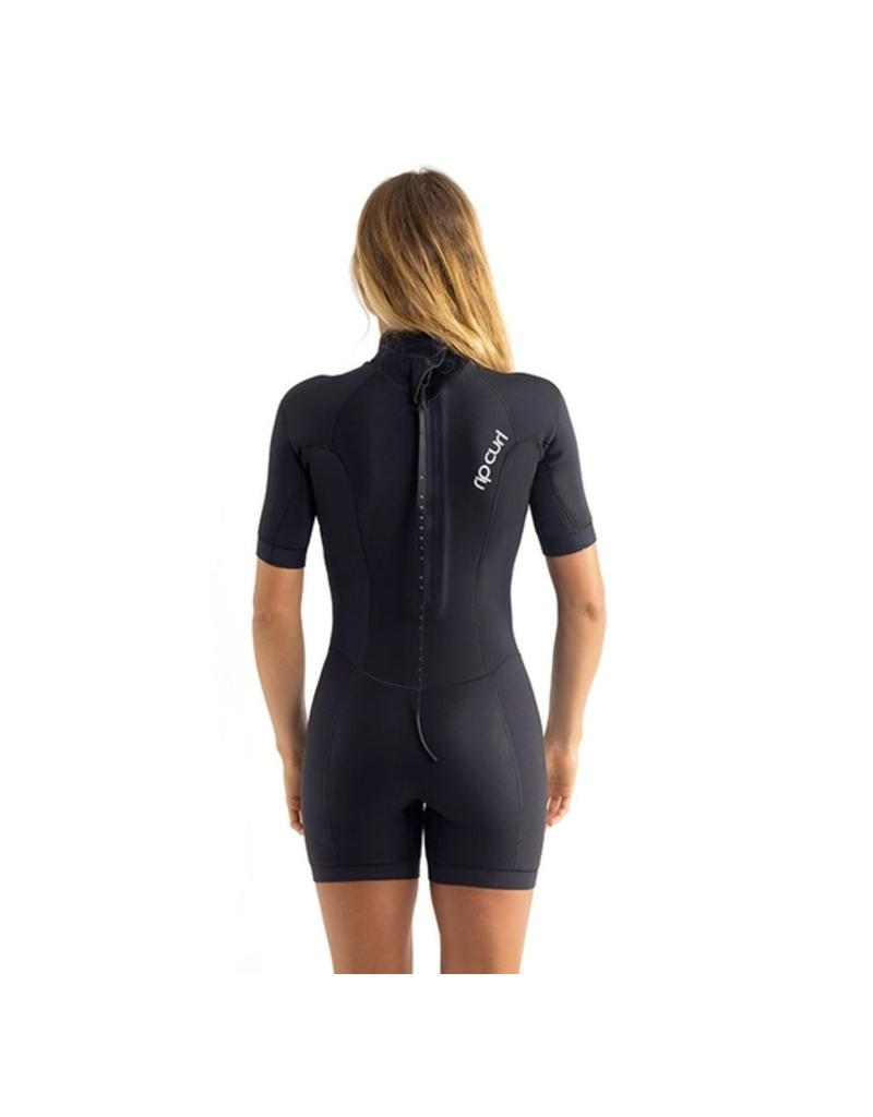 Rip Curl Women Springsuit Dawn Patrol S/S 2mm Black