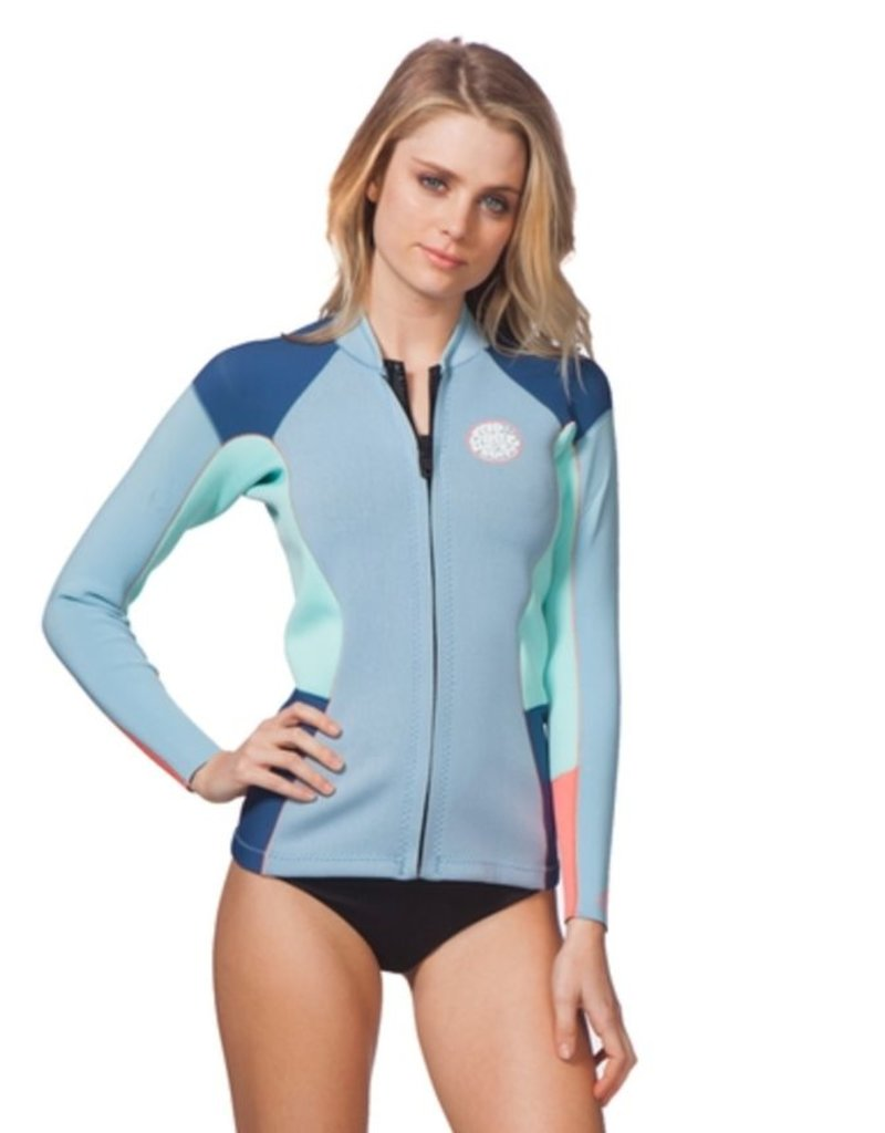 Rip curl Women Dawn Patrol L/S Jacket Blue