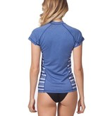 Rip curl Trestle Cap Sleeve Rash Guard Navy