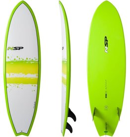 NSP Elements Fish Surf 7'0 Green