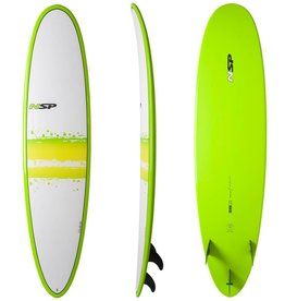 NSP Elements Funboard Surf 6'8 Round Green