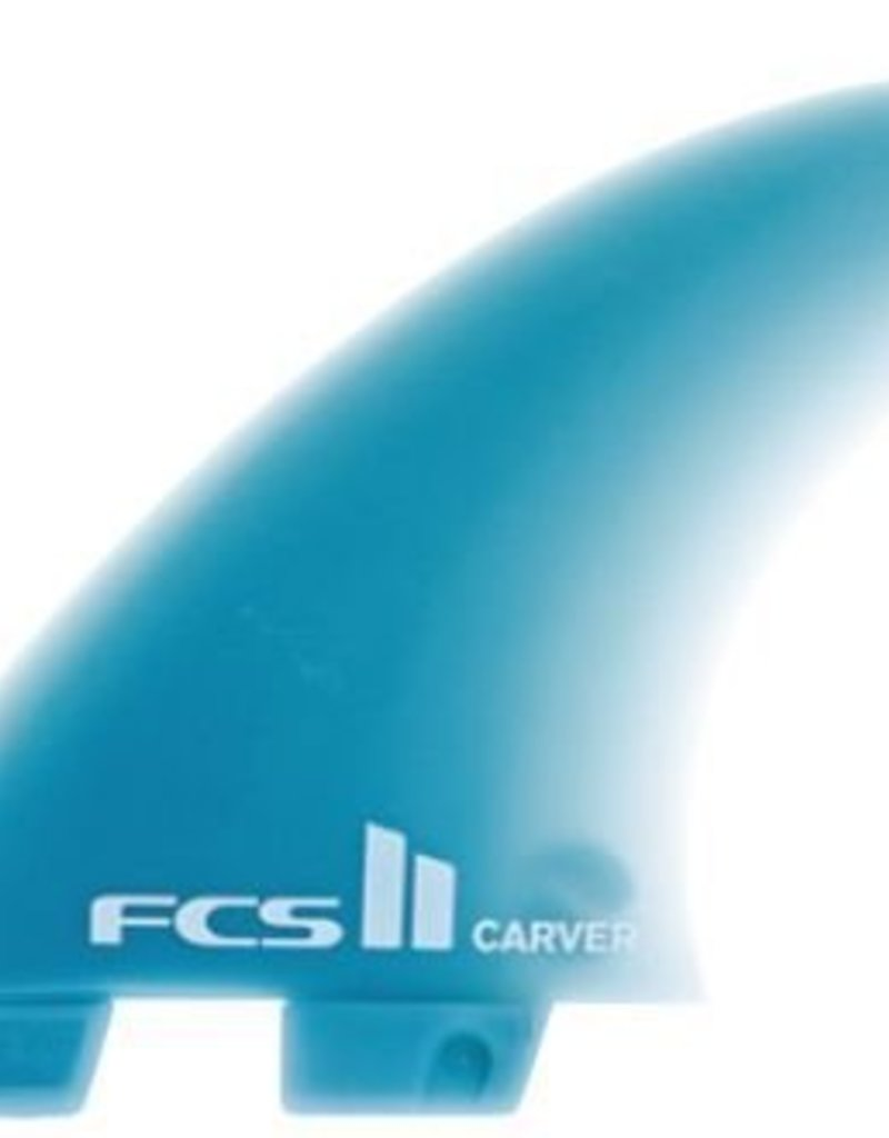 FCS Carver Glass Flex L Tri Fin Set