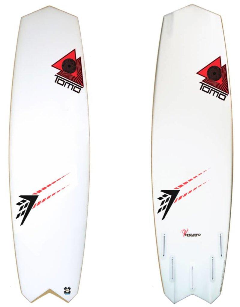 Tomo Surfboards Kite Vanguard FST 5'4 Double Diamond (Futures)