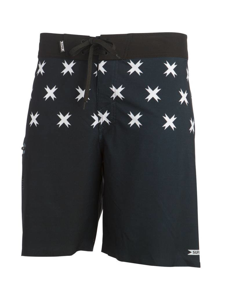 SUPER BRAND Toy X Boardshort Black