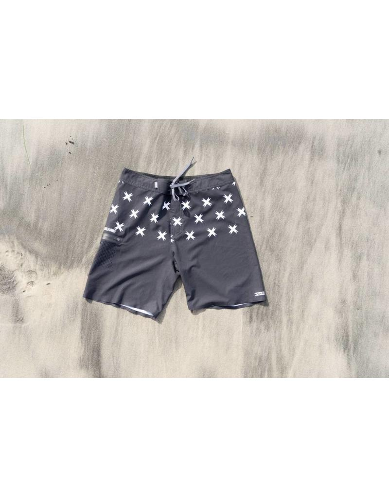 SUPER BRAND Toy X Boardshort Charcoal