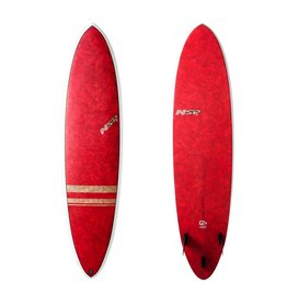 NSP Coco Fun Surf VC 7'2 Red