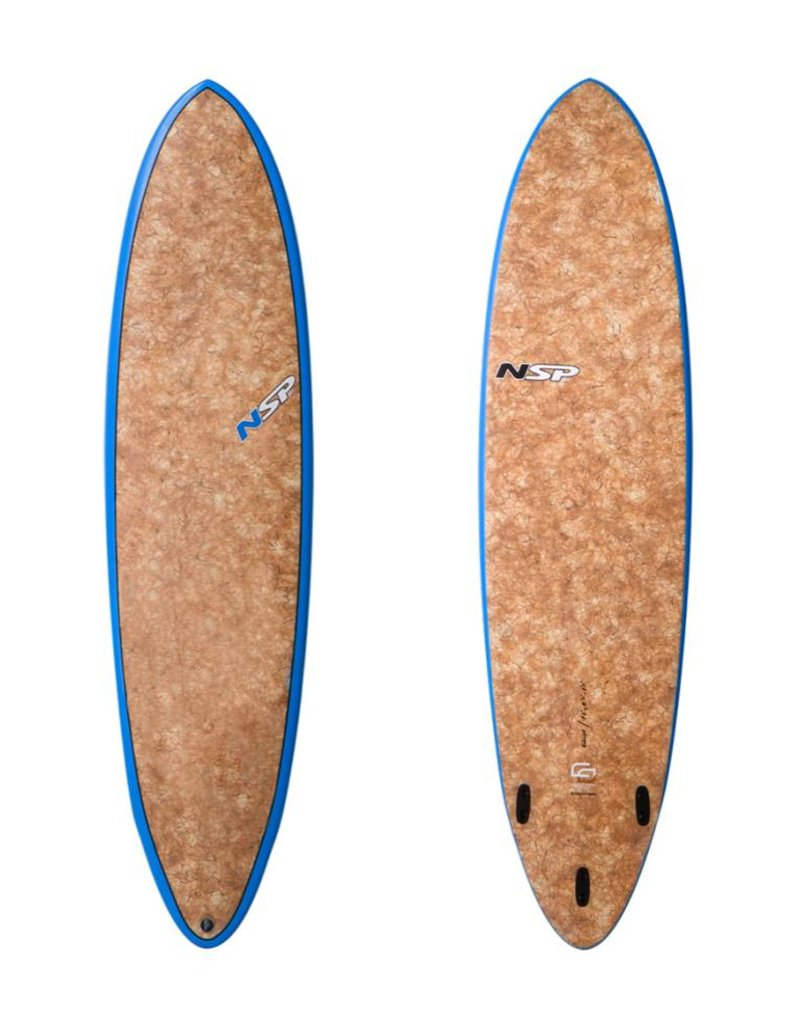NSP Coco Fun Surf VC 7'2 Natural