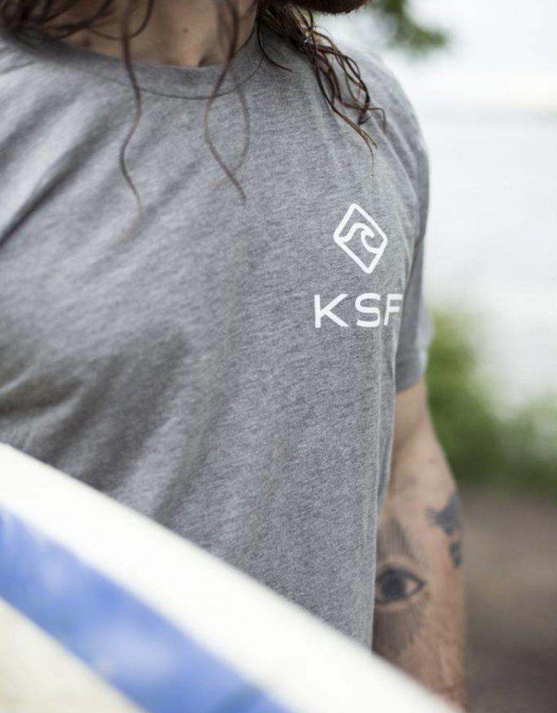KSF T-Shirt Men Gray