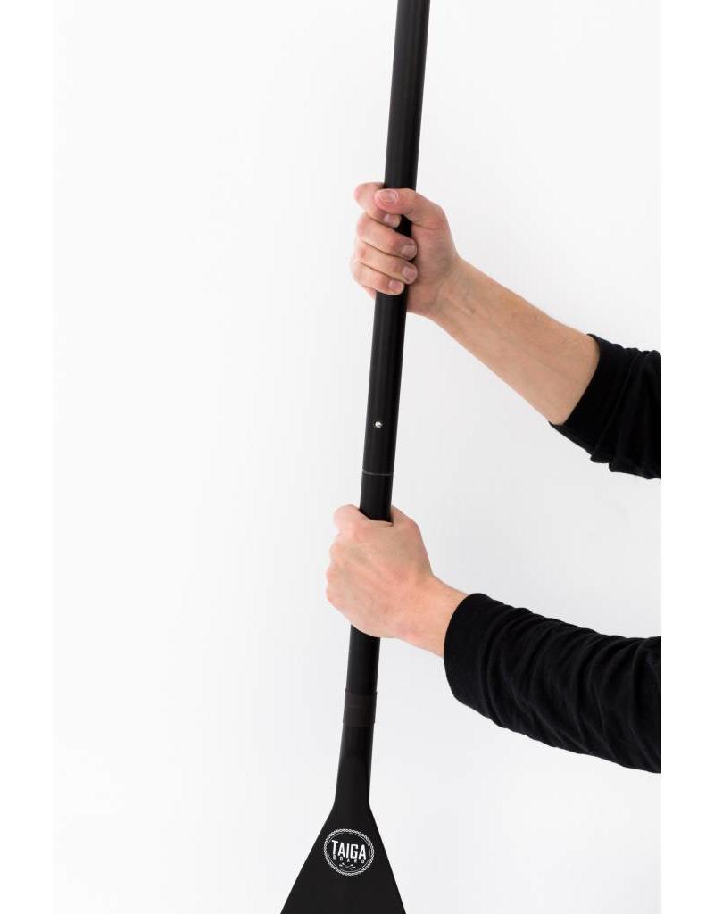 Taiga Pagaie hybride - Noir - Ajustable 3 pièces