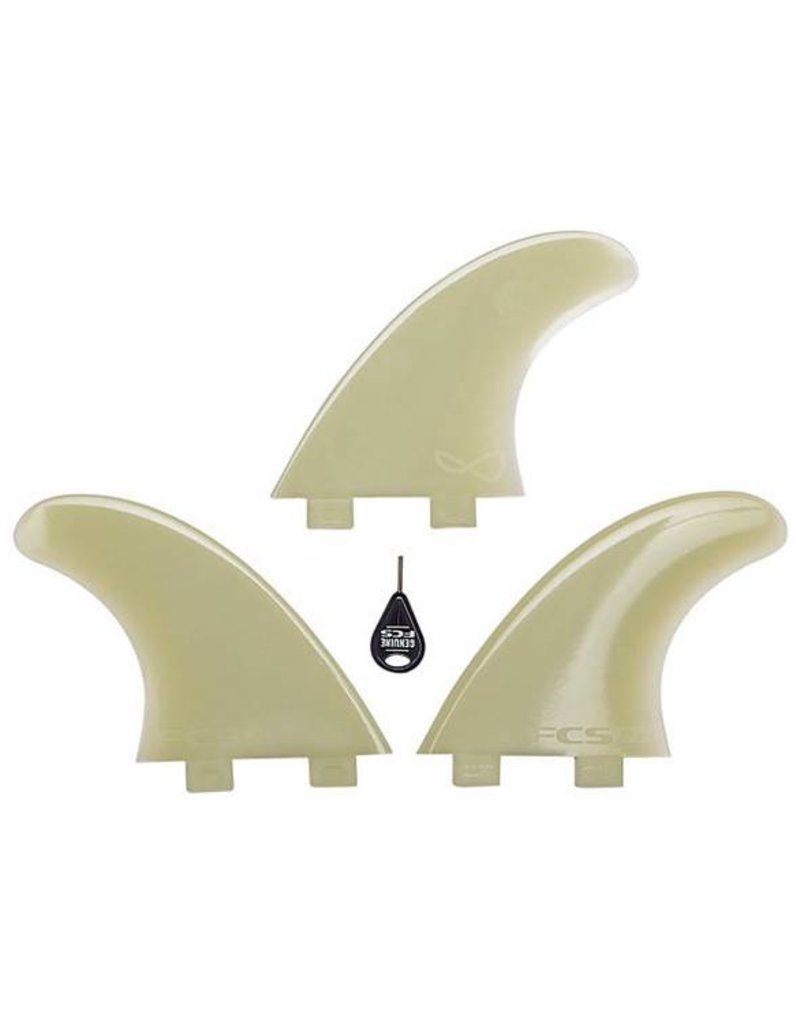 FCS M7 Glass Flex Tri Fin Set