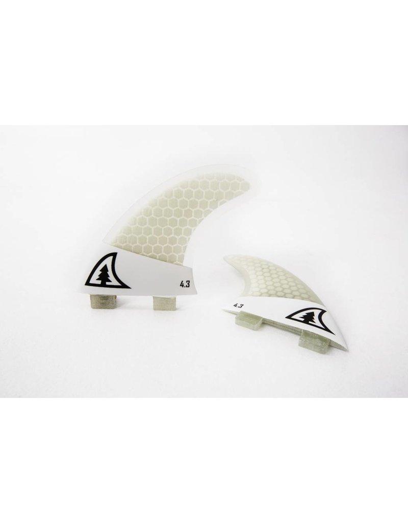 Taiga Side Fins Twin - Honeycomb 4.6