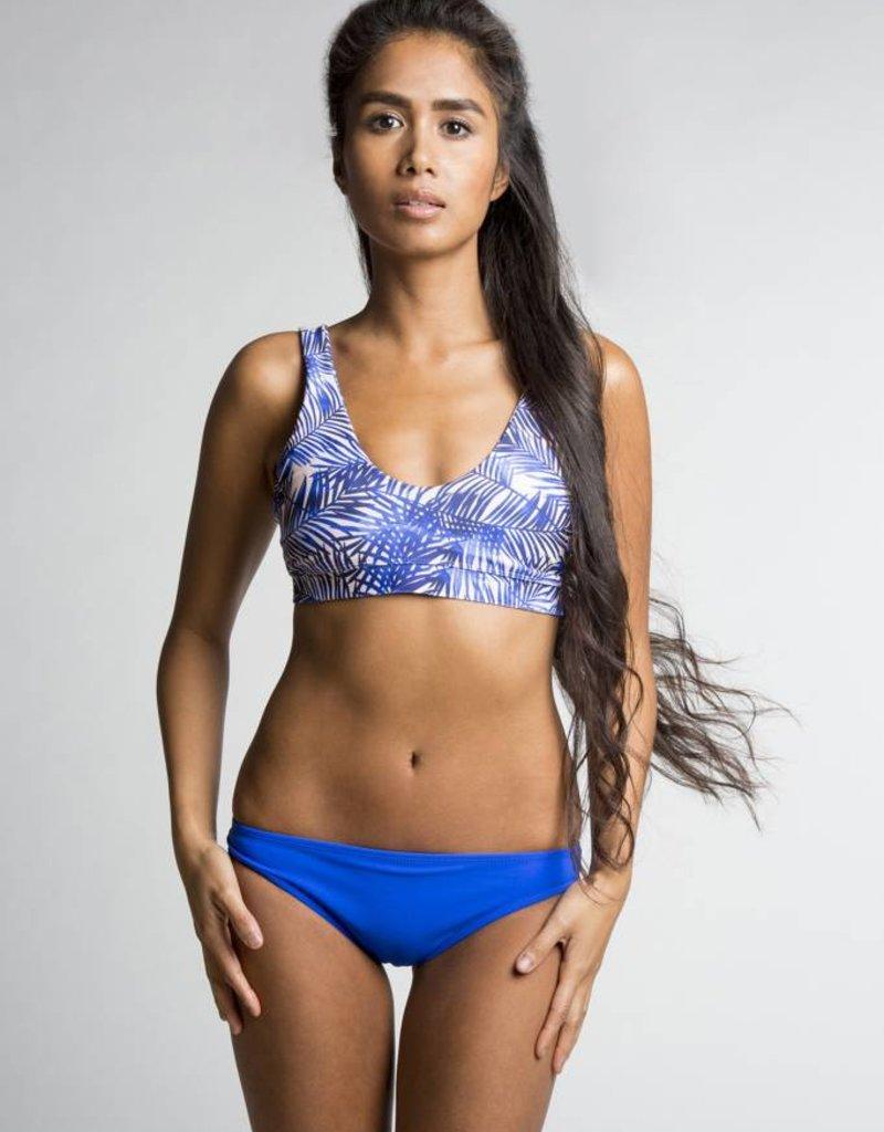June Swimwear Louise Bikini Top in Bamboo