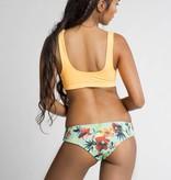 June Swimwear El Zonte Surf Bikini Bottom in Summer Bloom