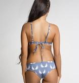 June Swimwear El Zonte Surf Bikini Bottom in Angel