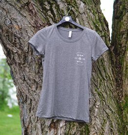 KSF T-Shirt Women Grey