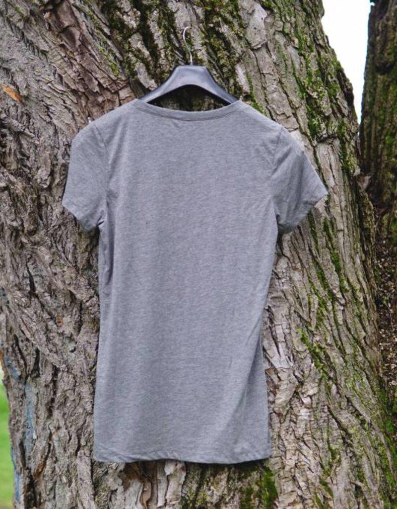 KSF T-Shirt Women Grey