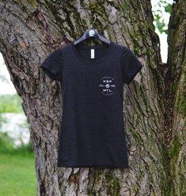KSF T-Shirt Women Charcoal