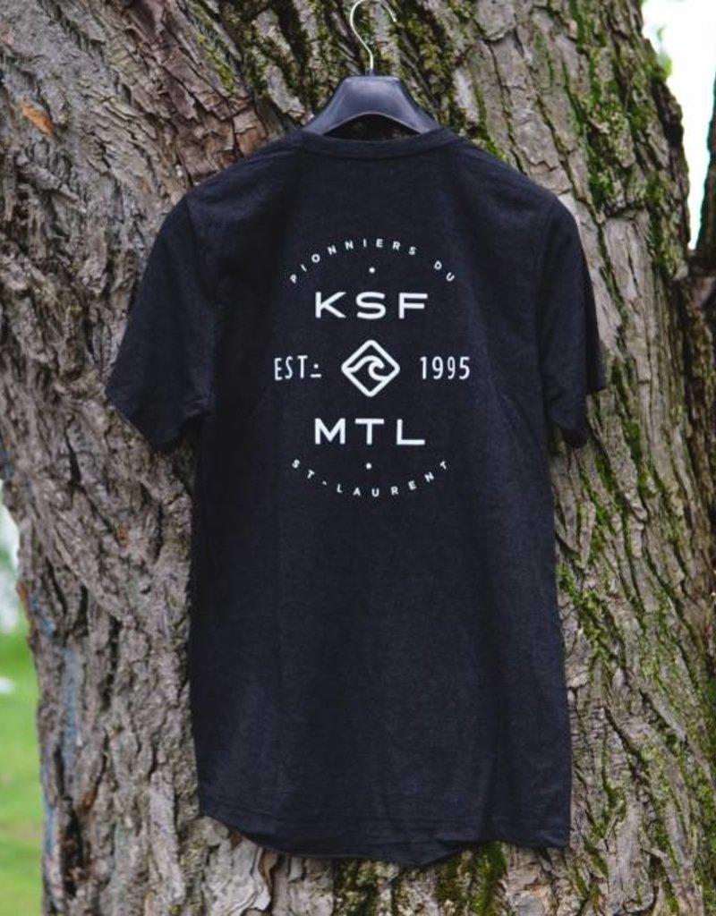 KSF T-Shirt Homme Charcoal
