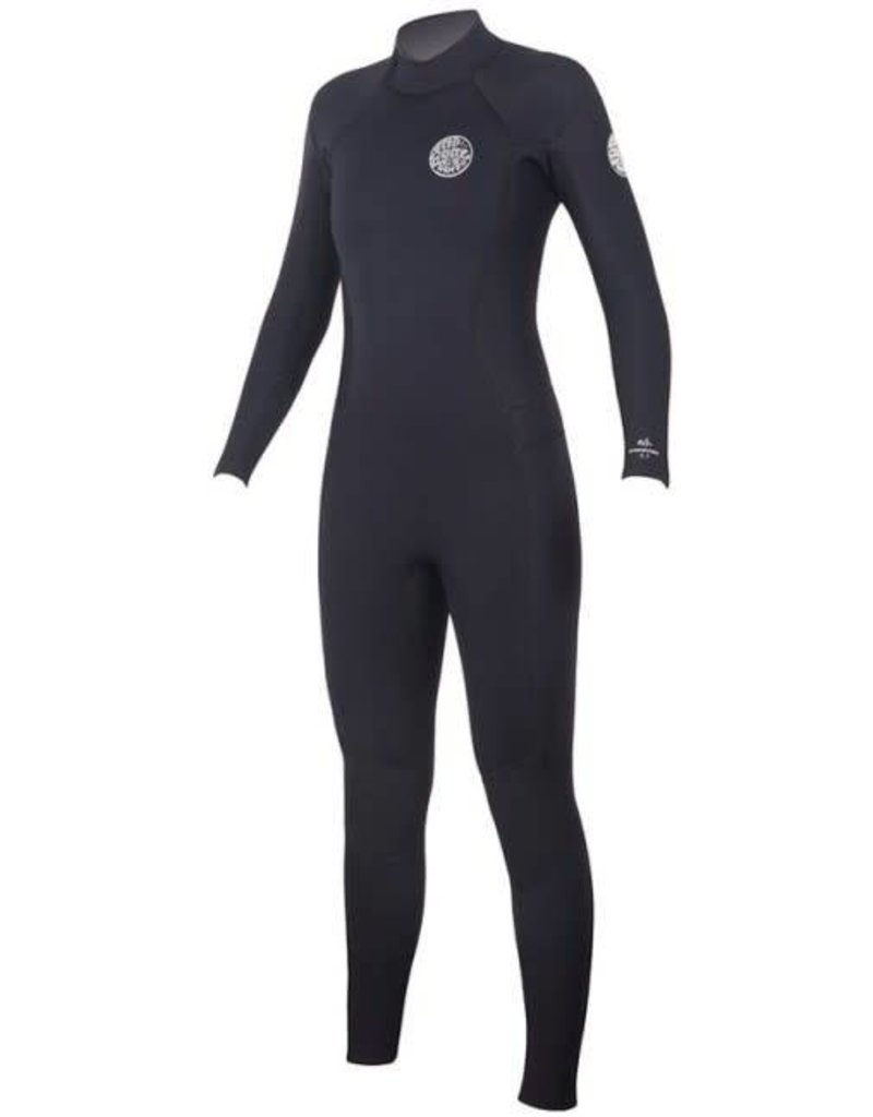 Rip curl Women's Dawn Patrol 4/3 Back Zip Wetsuit 2018