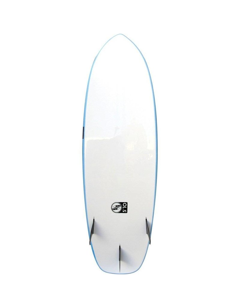 Boardworks Froth Performance 5'10 Powder White