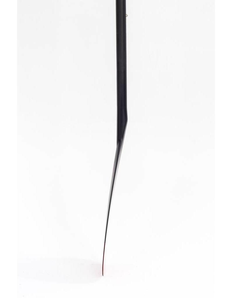 Taiga Pagaie Hybride - Corail et Noir - Ajustable 2 pièces