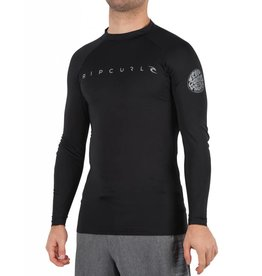 Rip Curl Dawn Patrol L/SL Rash Guard Black