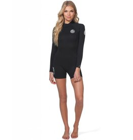 Rip Curl Women Dawn Patrol L/SL 2mm Springsuit Black