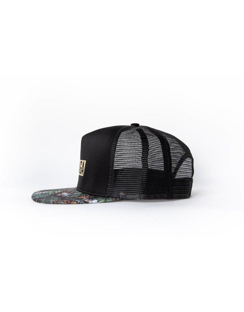 Taiga Casquette  Noir/Tropical