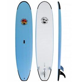 3 Palms Surfboard Soft Top Blue 8'4