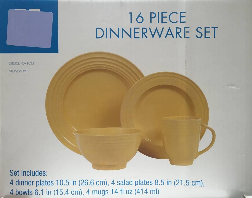 16pc Dinnerware Set 16pc Dinnerware Set 16pc Dinnerware Set ... & 16pc Dinnerware Set - USA Discount Store