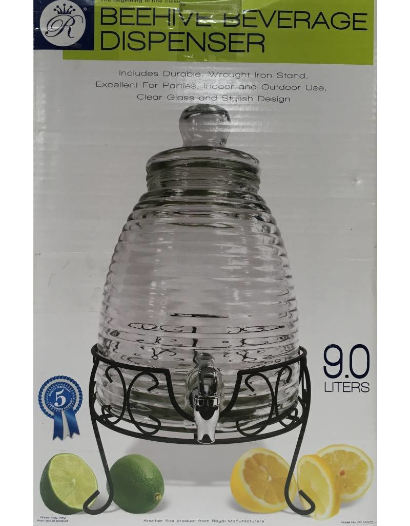beehive beehive beverage dispenser 9l beehive beehive beverage dispenser 9l - Beverage Dispenser With Stand