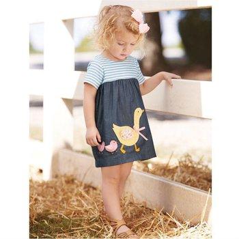 Goose Chambray Dress