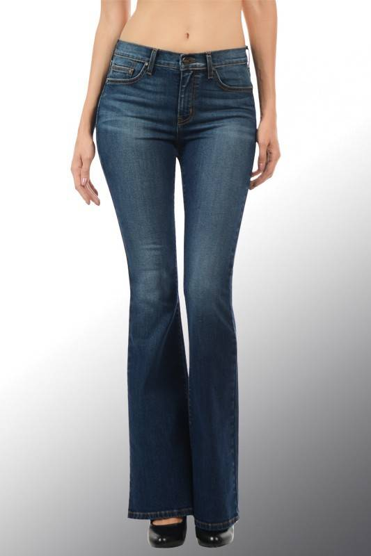 Angry Rabbit Flare Jeans