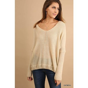 Back Detail Sweater